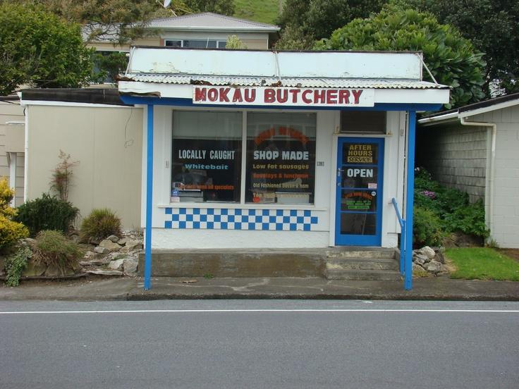 Mokau Butchery, Taranaki