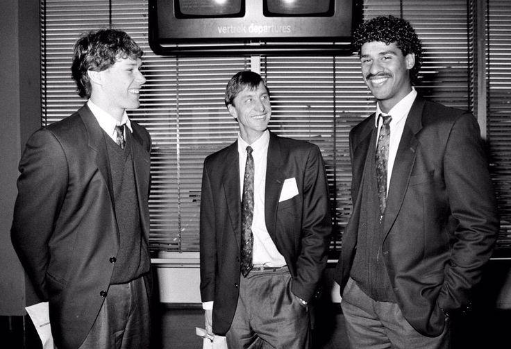 Marco Van Basten, Johan Cruyff & Frank Rijkaard