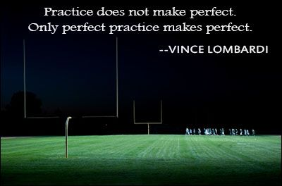 Practice perfect... Makes sense in school too.  A ditto of 20 practice problems is worthless (and detrimental) without checks for understanding to ensure it's done right! Have students do one or two probs at a time and then check in with you (or a classmate, or self-check) before moving on.  Completing the task is far less important than practicing correctly.