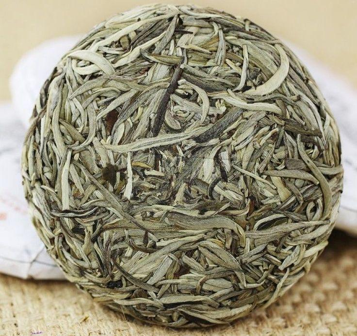 DA BAI HAO PU ER,Yunnan White Buds Raw Ancient Tree UnCooked Pu erh Tea,weiß tee
