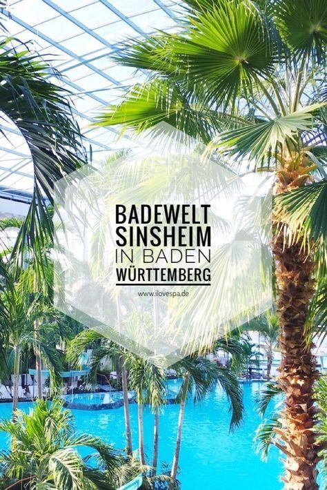 Sauna & Therme Sinsheim - Spa & Wellness in der Therme & Badewelt Sinsheim