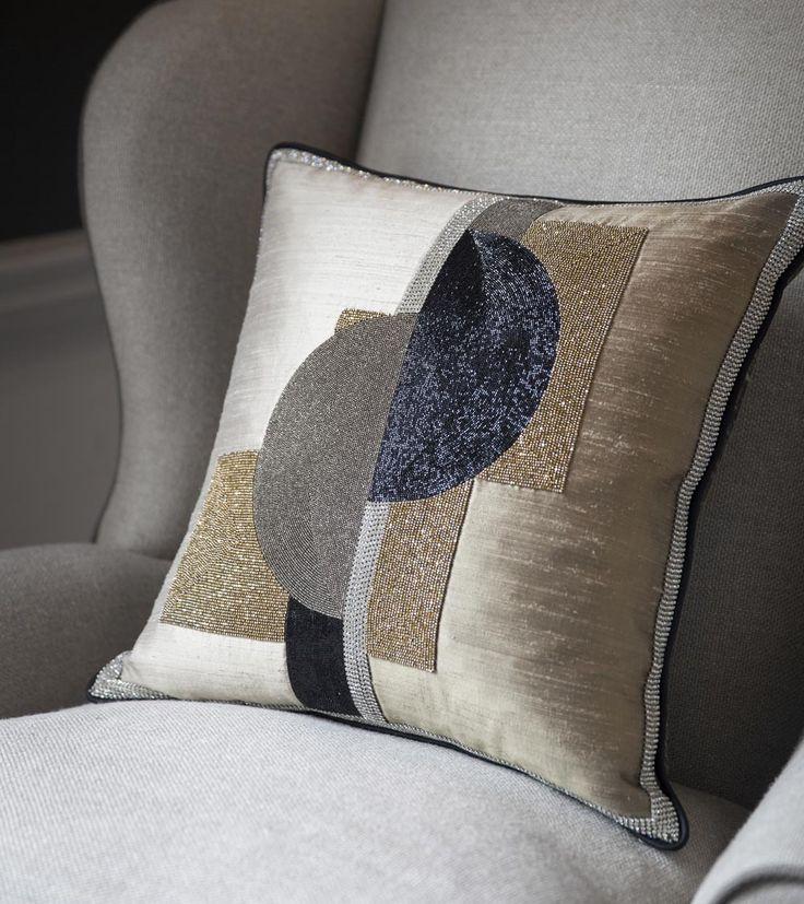 Piet cushion - Beaumont  Fletcher luxury handmade furniture and bespoke fabrics Handmade Furniture - http://amzn.to/2iwpdj4