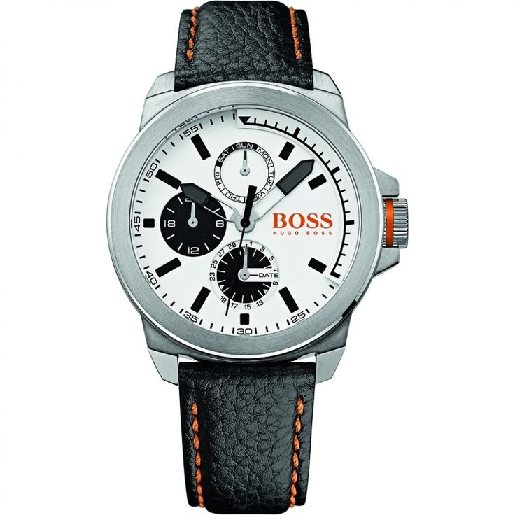 MENS HUGO BOSS ORANGE NEW YORK WATCH 1513154