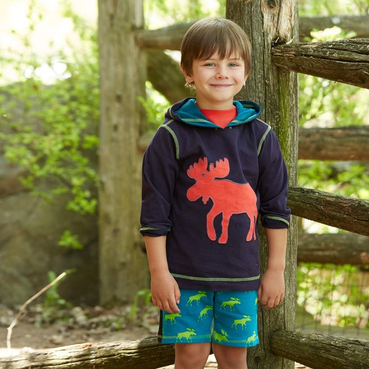 Gear up for the great outdoors with our comfortable moose pullover hoodie. View the season's best on our online store!  Don't forget to enter our Instagram swimwear giveaway!  #camping #kidsboutique #kidsfashion #kidsclothing #summer #outdoors #outdoorclothing