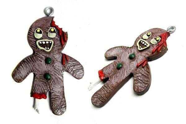 Zombie christmas ornaments | who killed bambi?