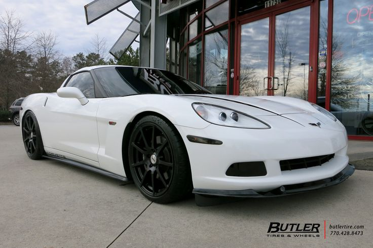 Chevrolet Corvette with 20in TSW Interlagos Wheels by #butlertire