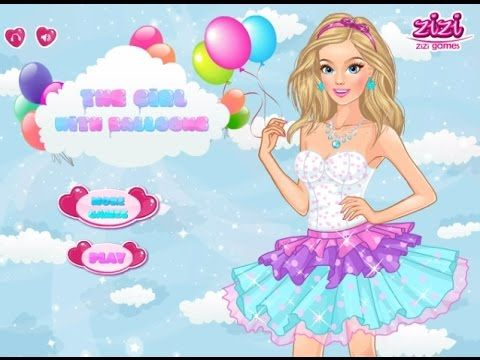 Barbie -The Girl With The Balloons - Game Tutorial 2016