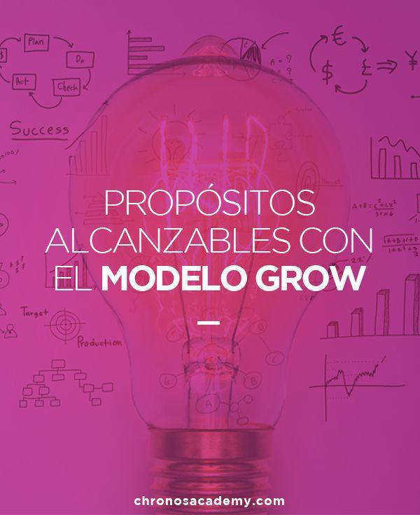 Crea propósitos alcanzables con el modelo GROW