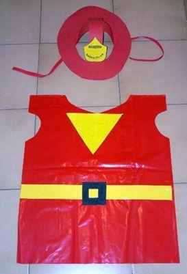 disfraz bombero