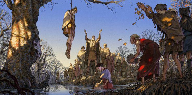 The Tollund Man is hanged