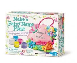 00-02743 Make A Fairy Name Plate 1 bags of plaster, 1 blister mould, 1 x #paint strip, 1 #string, 1 brush , 1 bag of glitter, 1 detailed instructions. Our Price: S$8.00 You Save: S$0.90