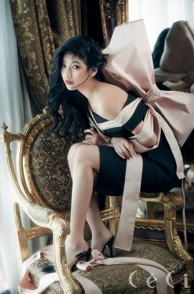 Suzy is the cover girl for 'CeCi's 20th anniversary issue