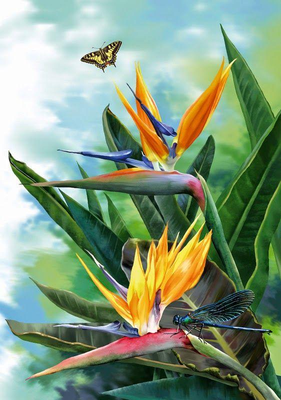 7 das Artes: Flores em óleo sobre tela.                                                                                                                                                                                 Mais