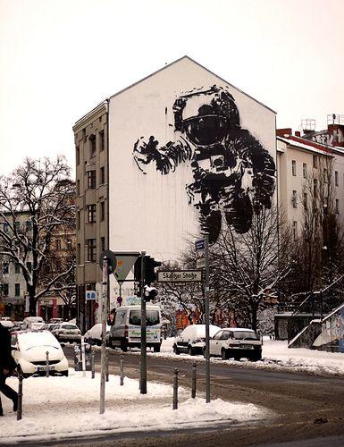 Astronaut in Kreuzberg, Berlin,