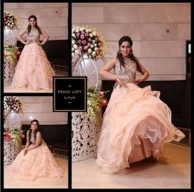 Engagement Gown - Cocktail Gown - Indo Western  Call +918860484097, +919999176495, +919871098349