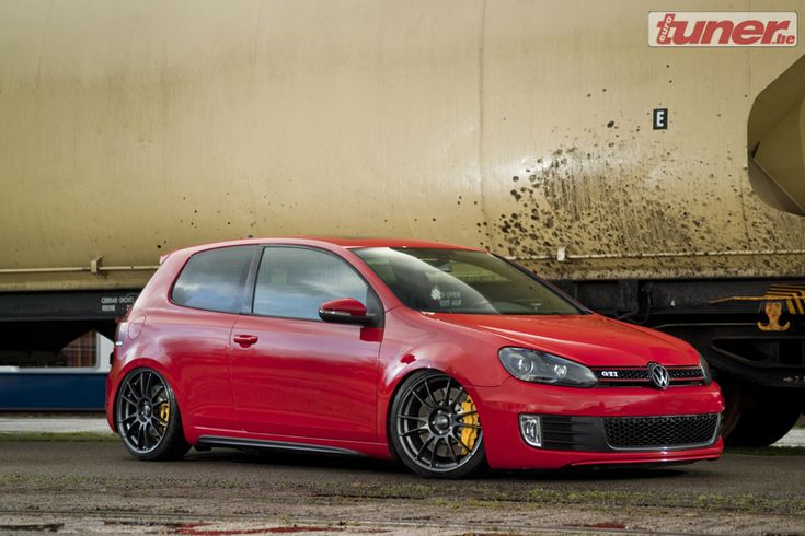slammed Golf mk6 GTI - Porsche influences - StanceWorks