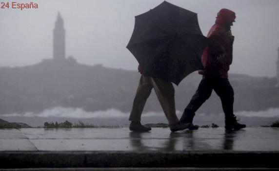 Toda España, excepto Ceuta, se encuentra en alerta por lluvia, nieve, oleaje y viento