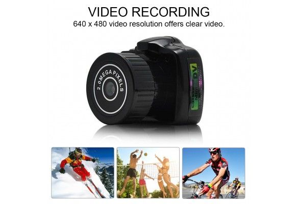 Smallest Spy Camera Tiny DV Surveillance Camcorder Up to 32GB External Memory