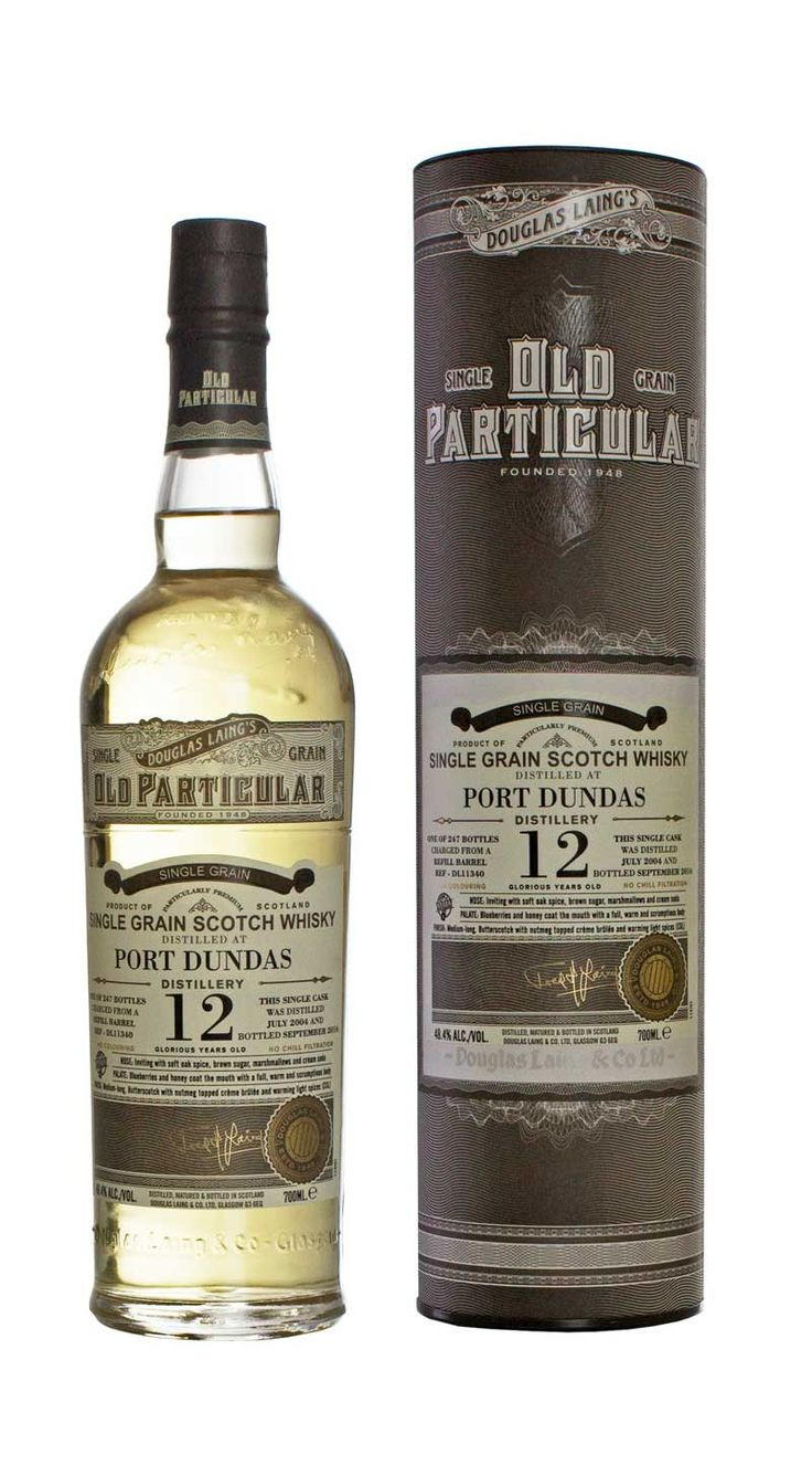 Review #519    From Douglas Laing comes this single grain whisky from a refill barrel with the cask number DL11665. Only 557 bottles were ...