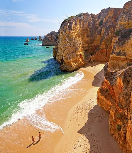 Best Quiet Places To Travel: Algarve Portugal Images On