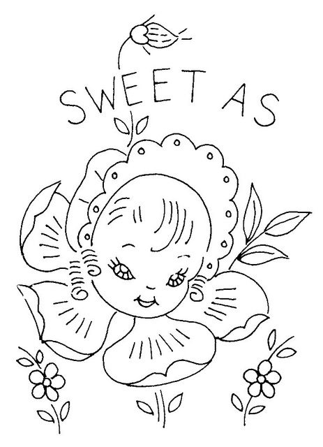 Best embroidery images on pinterest coloring pages
