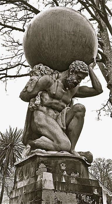 Atlas. Cargando la bóveda del mundo