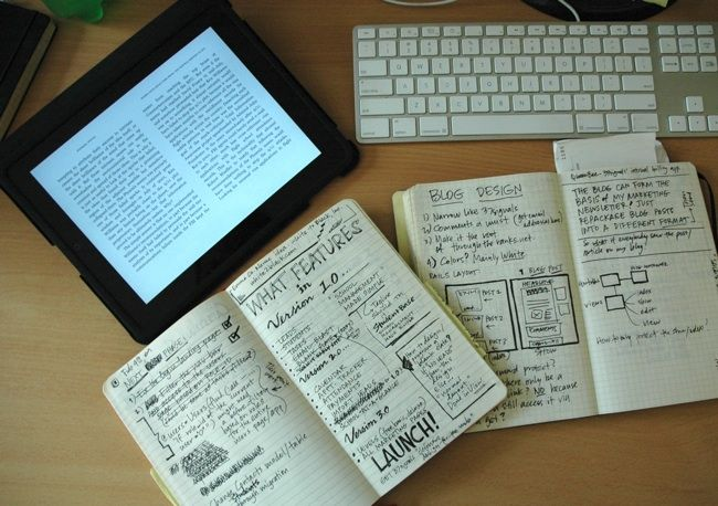 commonplace books, journals, diaries - all spaces to keep hunches alive - also look at slowhunch.com