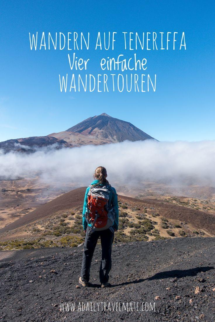 Wandern auf Teneriffa: Vier einfache und atemberaubende Wanderungen auf Teneriffa, die Du nicht verpassen darfst #teneriffa #wander #wandernteneriffa #urlaubteneriffa #kanaren #kanarischeinseln #wandernkanaren #wanderungteide #teidevulkan