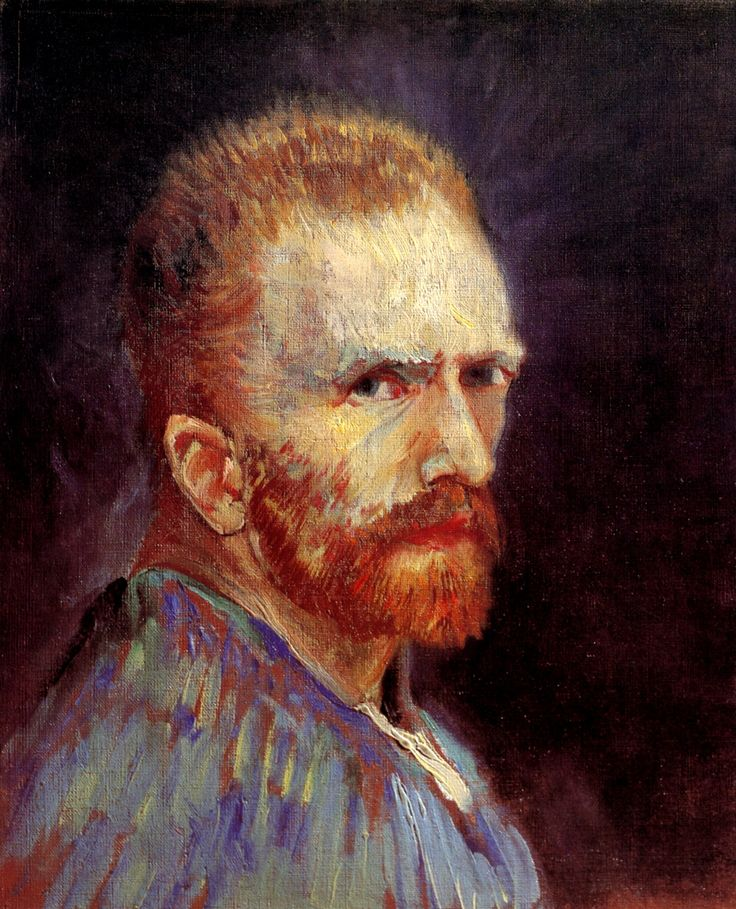 Self-Portrait, 1887  Vincent van Gogh  Mi artista favorito
