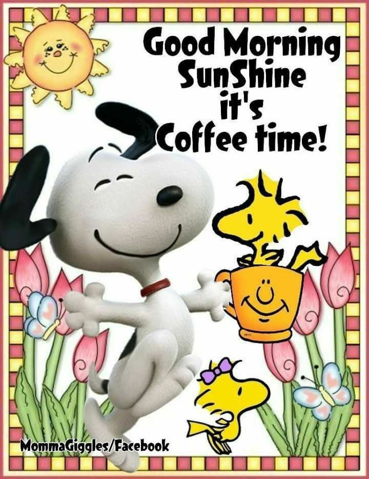 Pin By Thersa Cooper On Peanuts Snoopy Morning Quotes