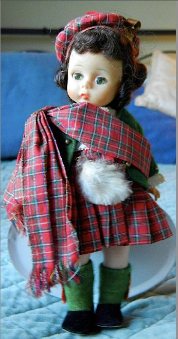 Madame Alexander Dolls of the World  Scotland by VintageDoLLBabys, $24.00
