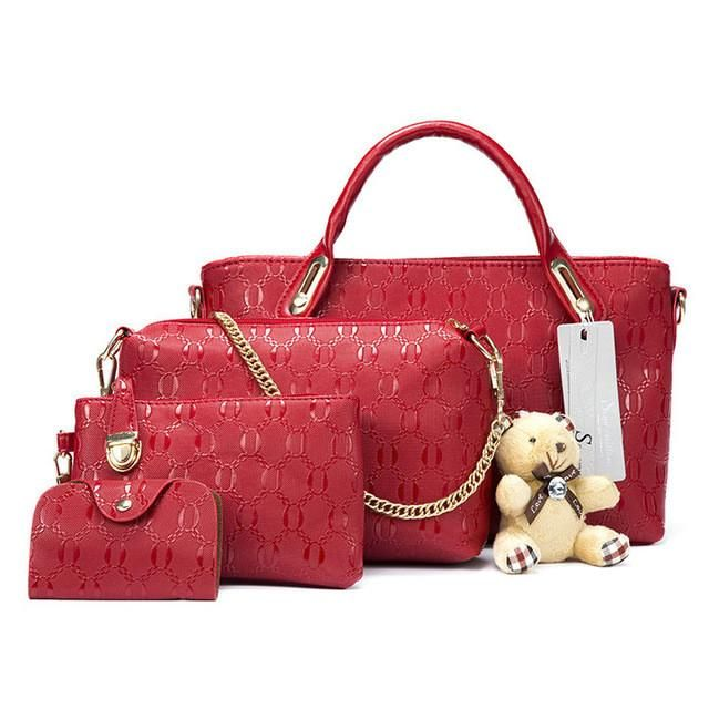 Red trend four bags-only $39.99 and free shipping