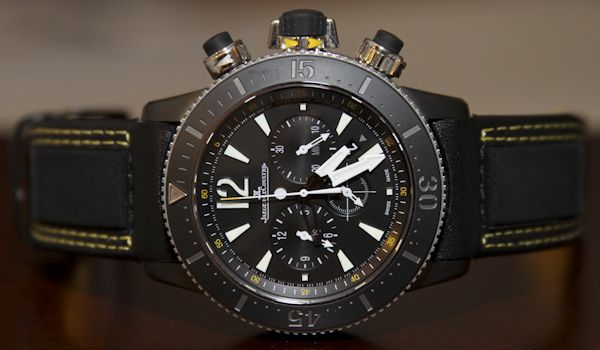 Jaeger LeCoultre Master Compressor Diving Chronograph GMT Navy SEALs Watch Review   jaeger lecoultre