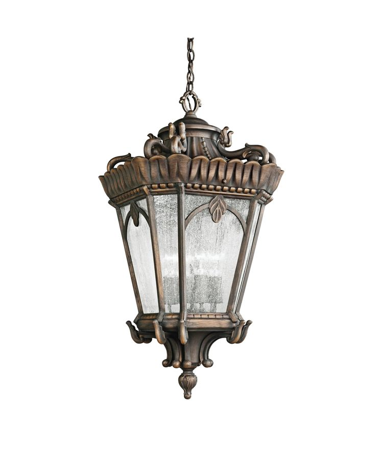 Kichler 9564 Tournai 4 Light Outdoor Hanging Lantern