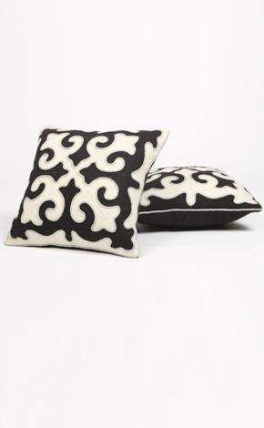 shyrdak pillows  felt art, known as shyrdak, is an age-old tradition of the nomadic kyrgyz people