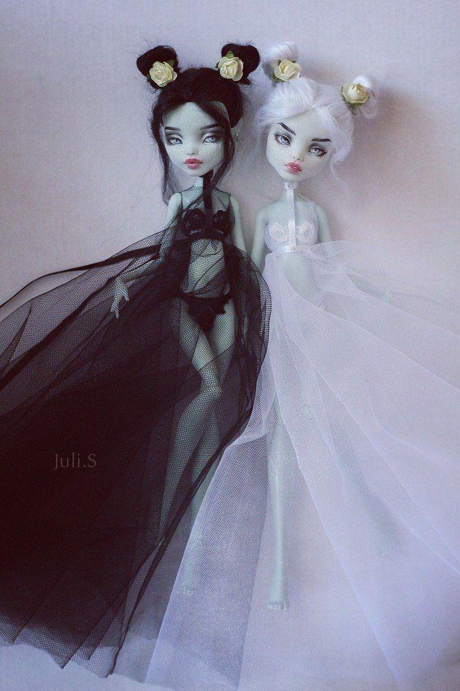 OOAK Monster High Frankie Stein #OOAKbyJuliSidorova #JuliSidorova… …
