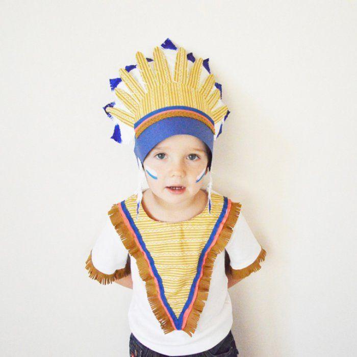 Le petit indien des plaines