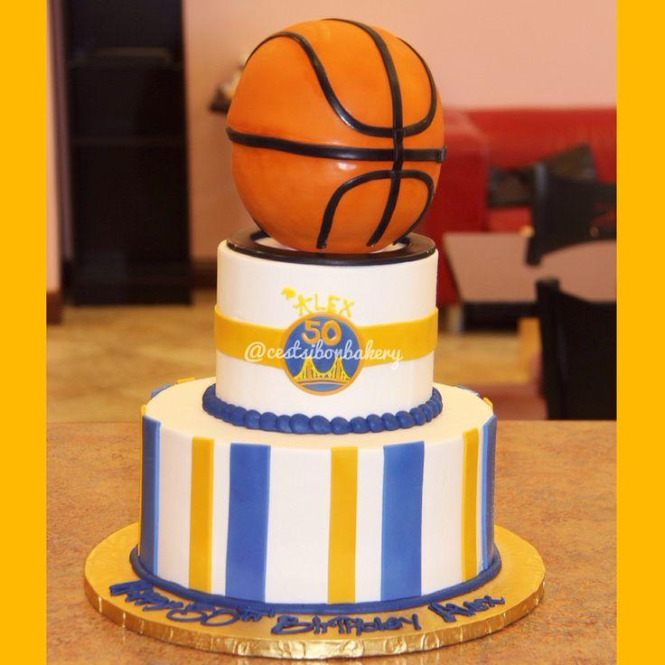 Golden state warriors cake!! #GSW