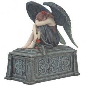 Figurine Ange Gothique Romantique - Boutique Gothique Romantique Gothyka