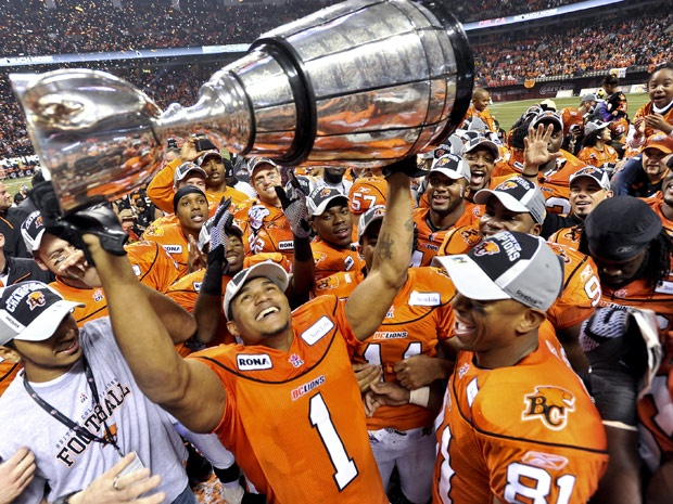 2011 Grey Cup Champs ~ BC Lions