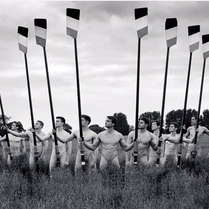 This British Rowing Team's Naked 2016 Calendar Should Be Hanging in Every Room of Your House