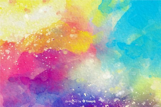 Download Colorful Watercolor Effect Background For Free Art