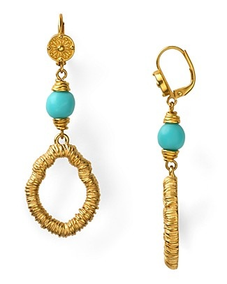 T Tahari Marrakesh Drop Earrings only $35