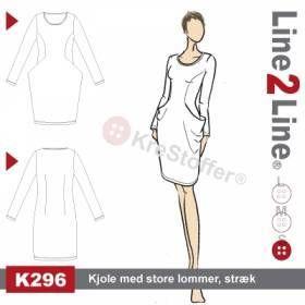 Kjole med store lommer, stræk