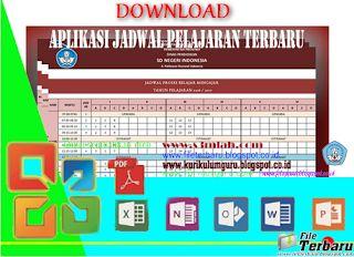 Aplikasi Jadwal Pelajaran Otomatis untuk jenjang SD/MI SMP/MTs dan SMA/MA/SMK