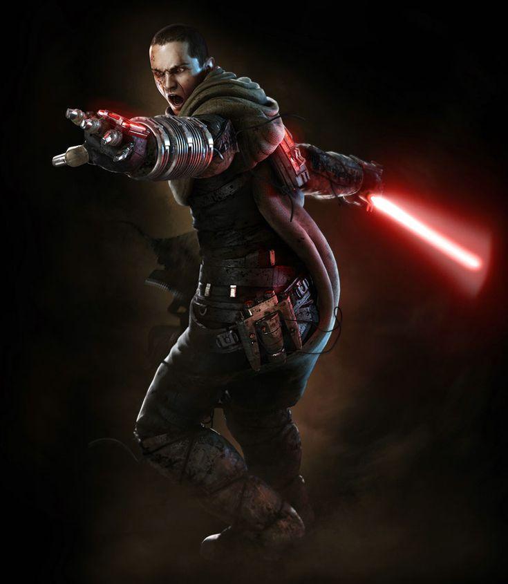 Secret Apprentice Starkiller (Galen Marek) - Pictures & Characters Art - Star Wars: The Force Unleashed