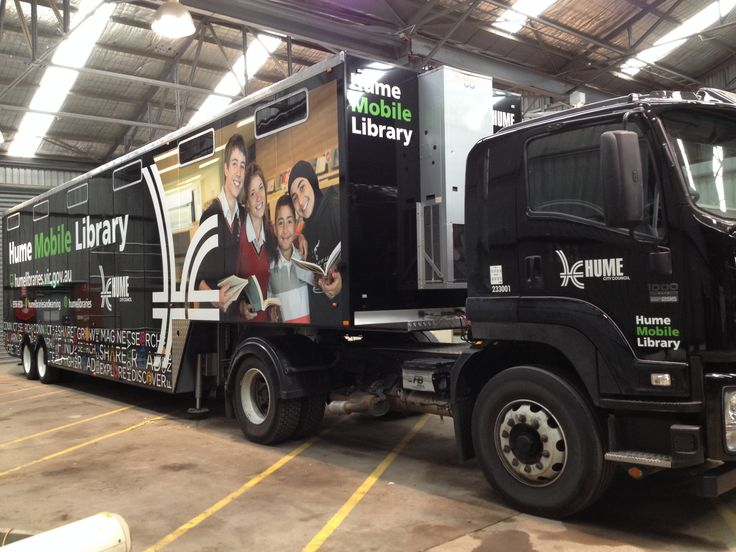 Come to one of our regular stops to see our newly refurbished mobile library.