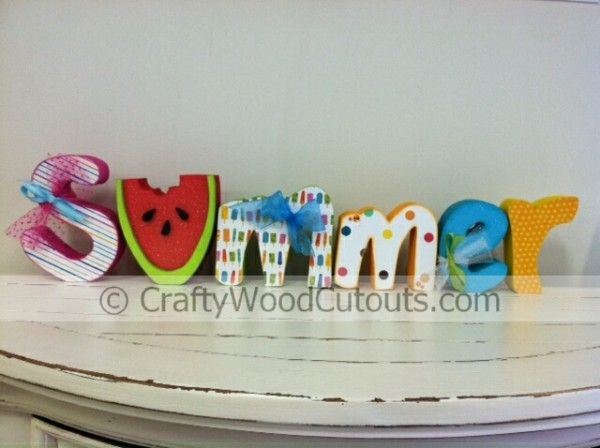 pictures of wood crafts | ... Summer Wood Crafts – Bugs and Insects | DIY Unfinished Wood Crafts