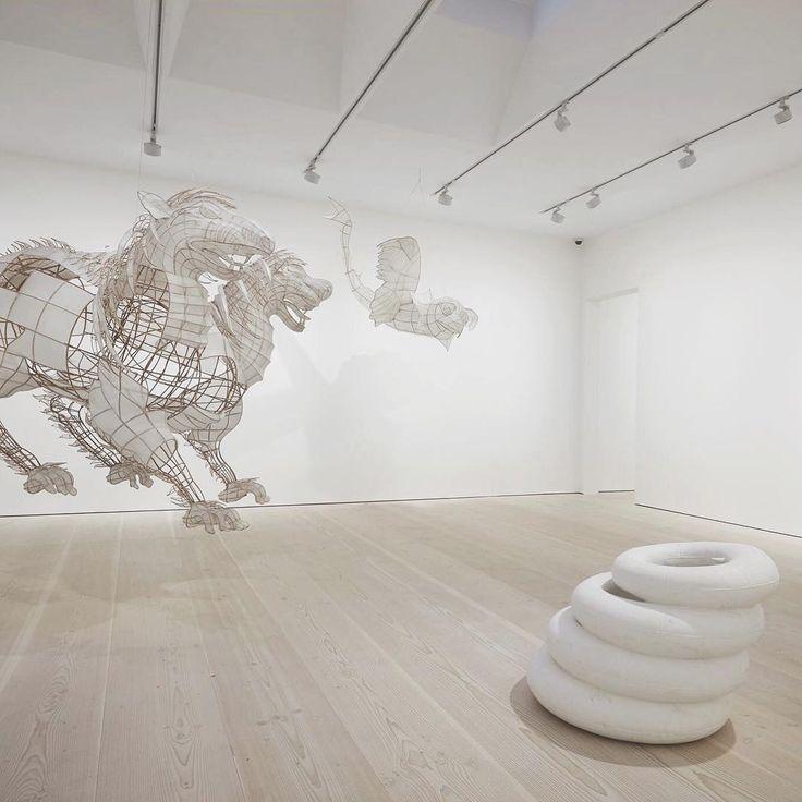 Wide plank flooring at Galerie Forsblom, Stockholm - Douglas by Dinesen