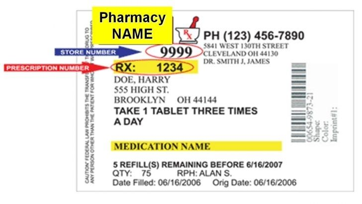 picture relating to Printable Fake Prescription Labels named Blank Prescription Label Perfect And Educated S In just